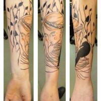 woman tattoo julia rehme 200x200 Tattoo Artist Gallery: Julia Rehme