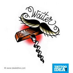 Tatto Idea Moustache111 250x250 Disegni tattoo   baffi