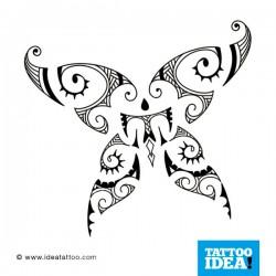 Tatto Idea farfalle4 250x250 Disegni Tattoo   Farfalle