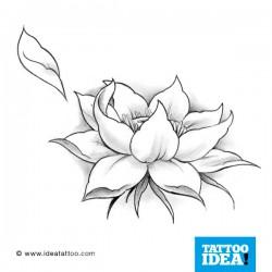 Tatto Idea fiori5 250x250 Disegni Tattoo   Fiori