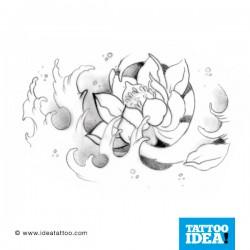 Tatto Idea fiori6 250x250 Disegni Tattoo   Fiori