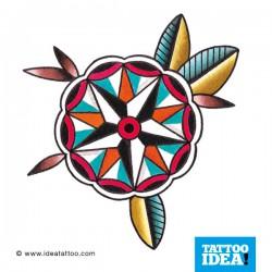 Tatto Idea fiori7 250x250 Disegni Tattoo   Fiori
