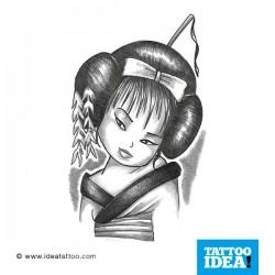 tattoo disegni baby geisha