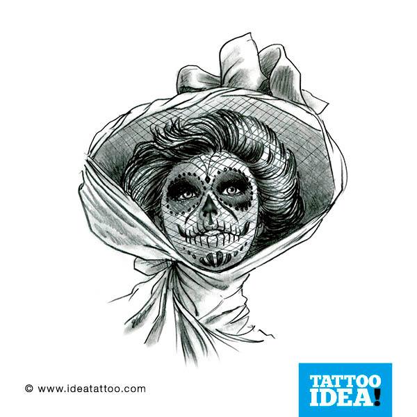 tattoo santa muerte tattoo skull woman tattoo skull woman tattoo