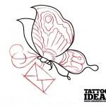 188 idea tattoo tutorial farfalla Morbix 4 150x150 Disegna la tua farfalla