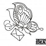 Tutorial tatuaggio farfalla