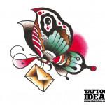 188 idea tattoo tutorial farfalla Morbix 6 150x150 Disegna la tua farfalla
