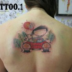 Car Pengi Tattoo 150x150 Tattoo artist gallery: Pengi