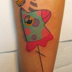 Einhorn Pengi Tattoo 150x150 Tattoo artist gallery: Pengi