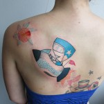 astronaut Pengi Tattoo 150x150 Tattoo artist gallery: Pengi