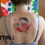 bird girl Pengi Tattoo 150x150 Tattoo artist gallery: Pengi