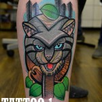 cat tattoo Piotr Gie 150x150 Tattoo Artist Gallery: Piotr Gie