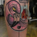 flamingo tattoo Piotr Gie 150x150 Tattoo Artist Gallery: Piotr Gie