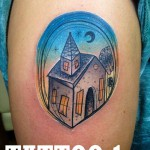 house tattoo Piotr Gie 150x150 Tattoo Artist Gallery: Piotr Gie