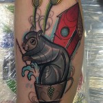 squirrel tattoo Piotr Gie 150x150 Tattoo Artist Gallery: Piotr Gie