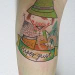 super guat Pengi tattoo 150x150 Tattoo artist gallery: Pengi