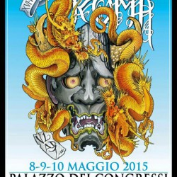 Idea Tattoo @ International Tattoo Expo Rome 8-9-10 May 2015