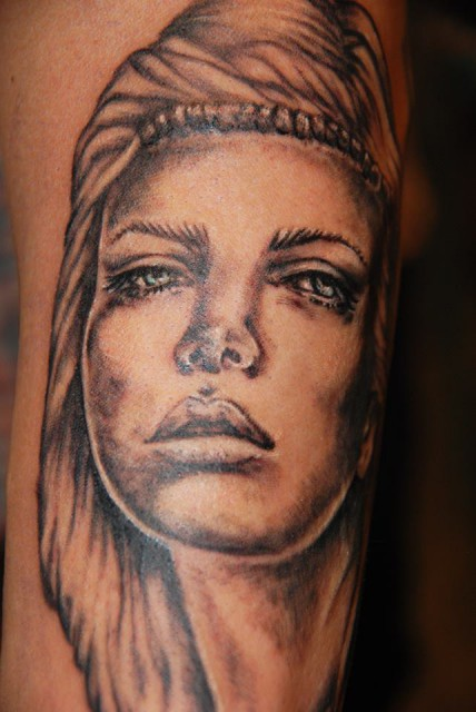 Tattoo by Rossana Bonetto, Bloody Mary Tattoo Parlour