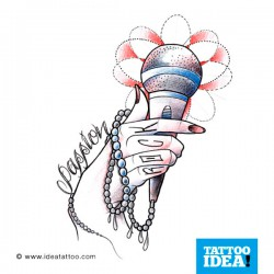 Tatto idea hand11 250x250 Drawings Tattoo