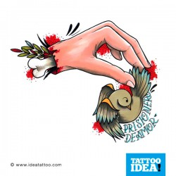 Tatto idea hand3 250x250 Disegni Tattoo   Mani