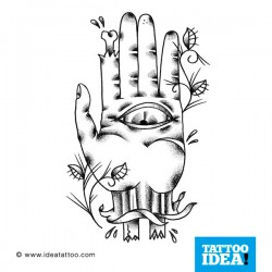Tatto idea hand5 250x250 Disegni Tattoo   Mani