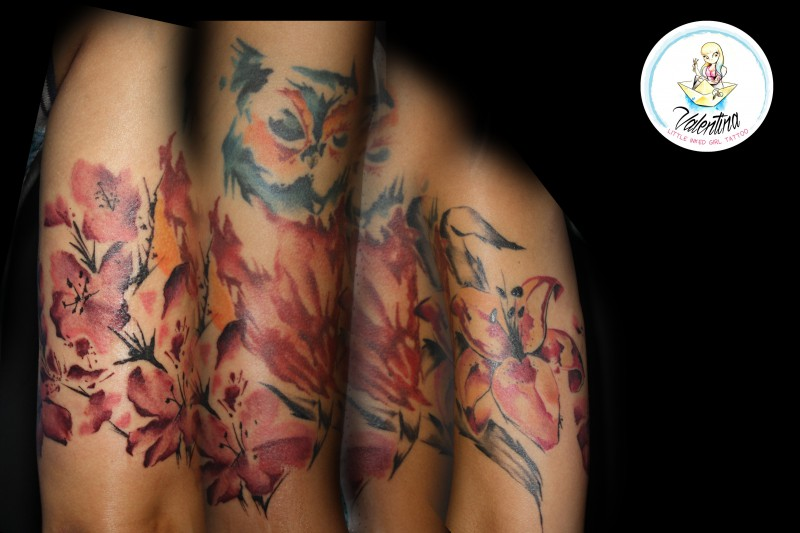Valentina LittleInkedGirlTattoo 800x533 Tattoo by Valentina, Little Inked Girl Tattoo
