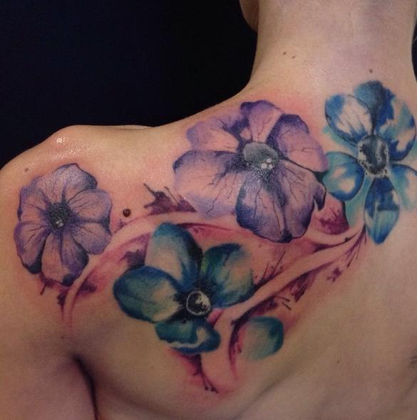 Tattoo by Valentina, Little Inked Girl Tattoo