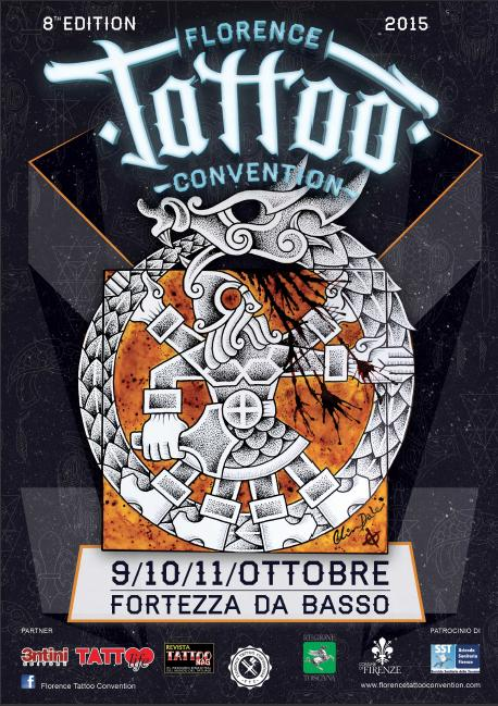 Florence Tattoo Convention and Idea Tattoo in October 2015
