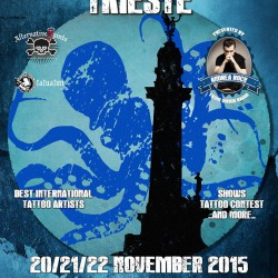 See you at the Trieste Tattoo Expo
