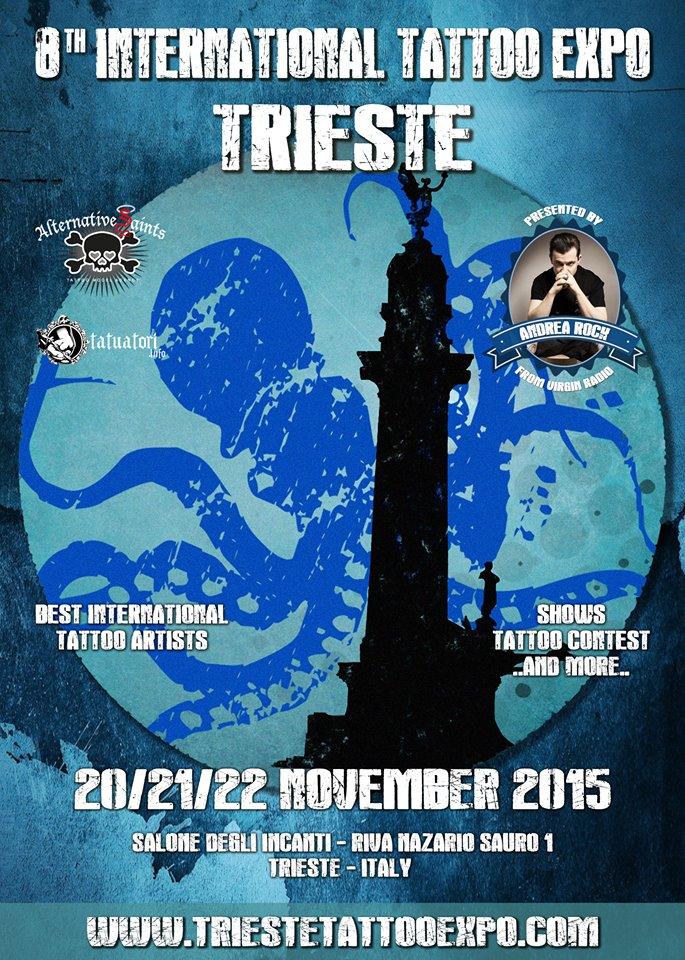 Ci vediamo alla Trieste Tattoo Expo