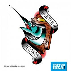 Old School Tattoo - Pesce