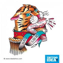Old School Tattoo - Tigre