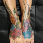 Bavarian-Flowers-Tattoo -