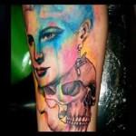 Sunink tattoo (Pompei - Italy)
