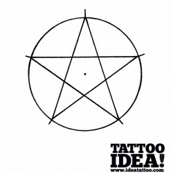 Draw a nautical star with a ship's helm