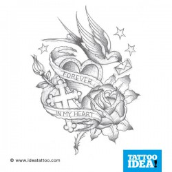 Tatto Idea rondini 250x250 Tattoo flash   Rondini