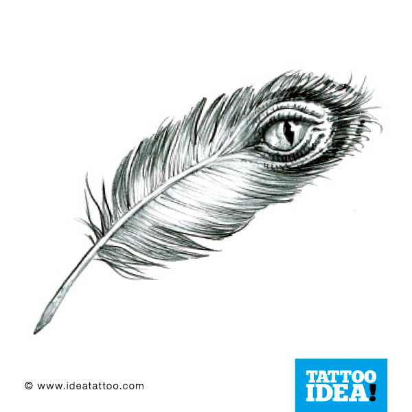 Peacock Feather Tattoo Designs Gallery