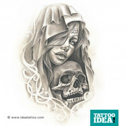 The La Catrina Tattoo makes a mark on the world of tattoos