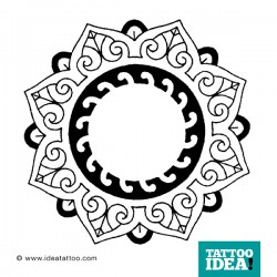 Tattoo Idea mandala design10 250x250 Disegni Tattoo   Mandala