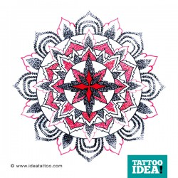 Tattoo Idea mandala design6 250x250 Disegni Tattoo   Mandala