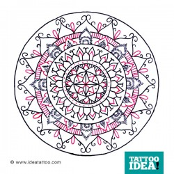 Tattoo Idea mandala design7 250x250 Disegni Tattoo   Mandala