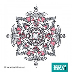 Tattoo Idea mandala design9 250x250 Disegni Tattoo   Mandala