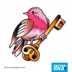 Tatto idea bird11 250x250 Disegni tattoo   Uccelli
