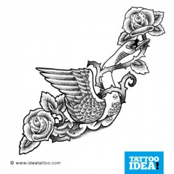 Tatto idea bird6 250x250 Disegni tattoo   Uccelli