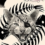 tattoo flash 8 gatti gattini cover Cat too Stars: the most famous (and tattooed) cats online