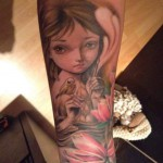 04 Ania Tomicka tattoo by Adolfo Rubio 150x150 Big Eyes. From art galleries to tattoos