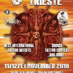 Trieste Tattoo Expo 11-13 novembre 2016