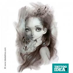 tattoo surrealism ania tomicka10 250x250 Tattoo Disegni   Big Eyes