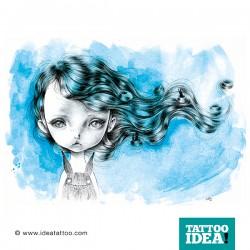 tattoo surrealism ania tomicka5 250x250 Tattoo Disegni   Big Eyes