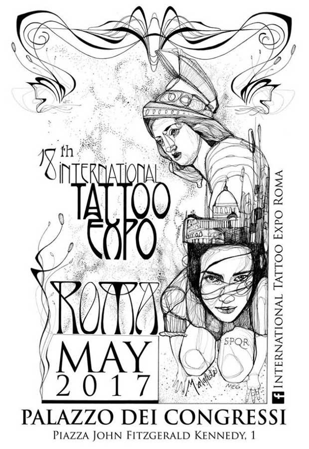 18th International Tattoo Expo Roma - 2017